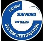 TUV Hellas - ISO 9001